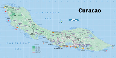 Curacao Location On World Map.Bbt Online