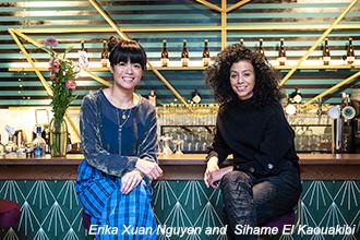 Erika Xuan Nguyen and  Sihame El Kaouakibi