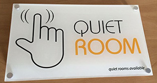 quiet hotel rooms