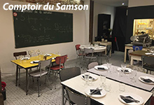 comptoir du Samson